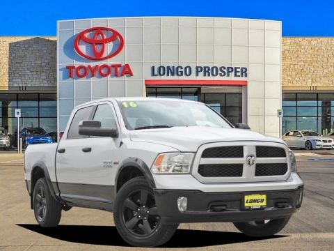 Pre-Owned 2016 Ram 1500 Outdoorsman 4WD 4D Crew Cab