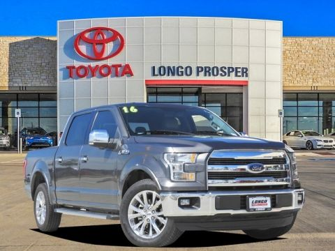 Pre-Owned 2016 Ford F-150 Lariat RWD 4D SuperCrew