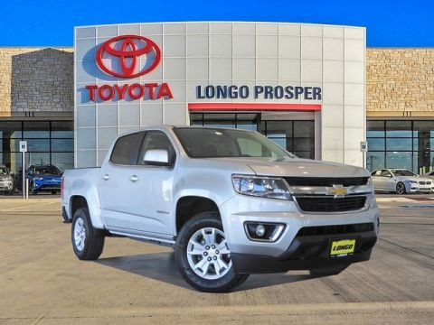 Pre-Owned 2017 Chevrolet Colorado LT RWD 4D Crew Cab