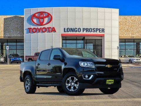 Pre-Owned 2015 Chevrolet Colorado Z71 4WD 4D Crew Cab
