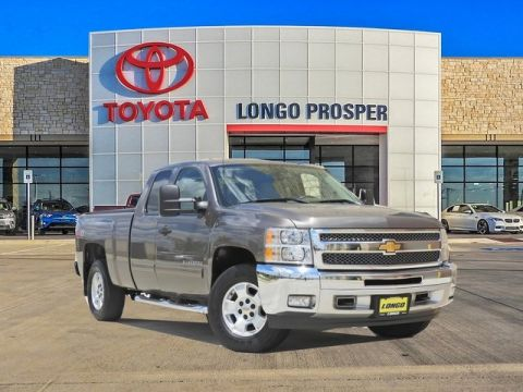 Pre-Owned 2012 Chevrolet Silverado 1500 LT 4WD 2D Standard Cab