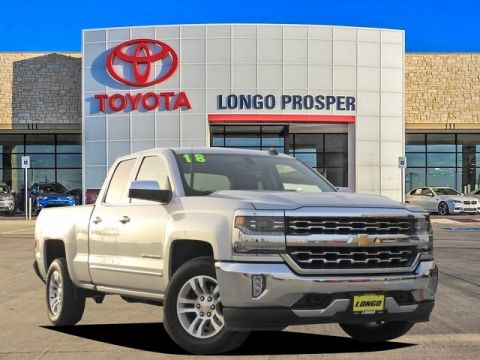 Pre-Owned 2018 Chevrolet Silverado 1500 LTZ 4WD 4D Double Cab