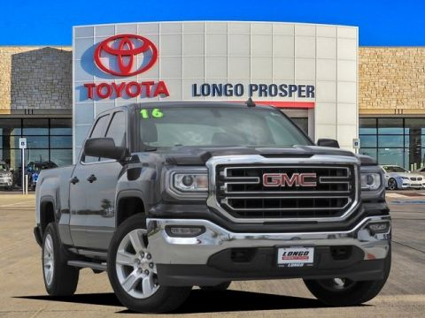 Pre-Owned 2016 GMC Sierra 1500 SLE 4WD Extended Cab