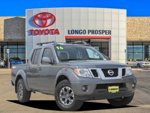 Pre Owned 2016 Nissan Frontier Pro 4wd 4d Crew Cab