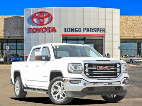 Pre-Owned 2017 GMC Sierra 1500 SLT 4WD 4D Crew Cab