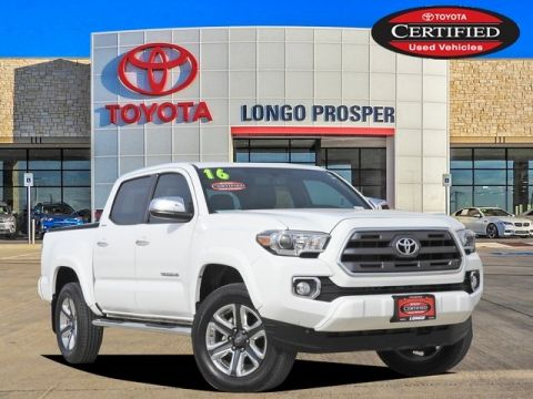 Certified Pre-Owned 2016 Toyota Tacoma Limited 4WD 4D Double Cab