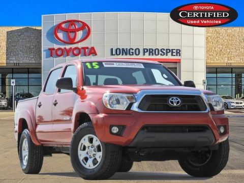 Certified Pre-Owned 2015 Toyota Tacoma Base 4WD 4D Double Cab