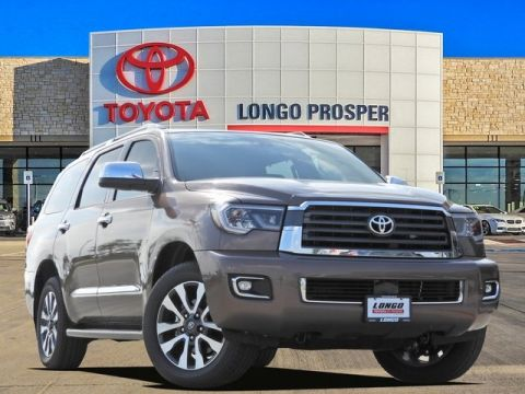 New 2018 Toyota Sequoia Limited