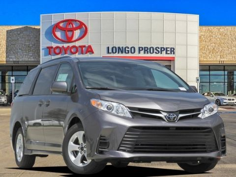 New 2018 Toyota Sienna LE