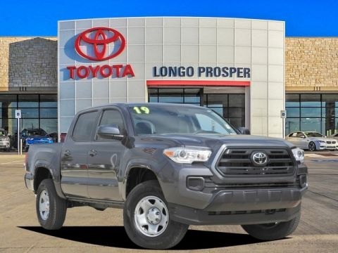 Pre-Owned 2019 Toyota Tacoma SR RWD 4D Double Cab