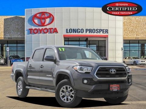 Certified Pre-Owned 2017 Toyota Tacoma SR5 RWD 4D Double Cab