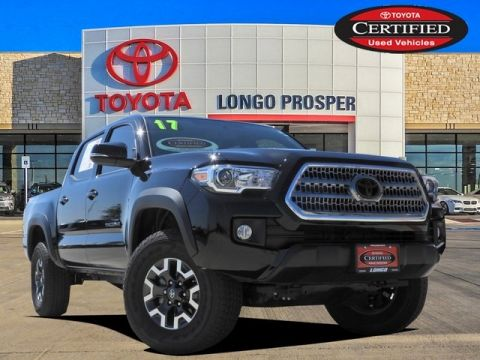 Certified Pre-Owned 2017 Toyota Tacoma TRO 4WD 4D Double Cab