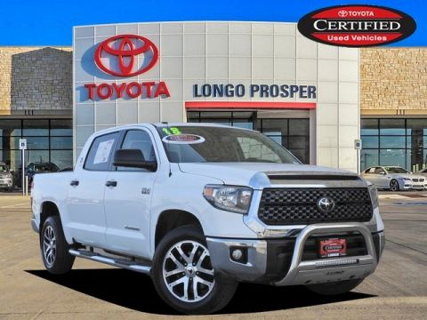 Certified Pre-Owned 2018 Toyota Tundra SR5 4WD 4D CrewMax