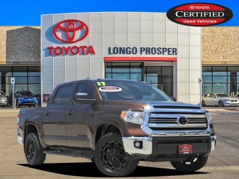 Pre-Owned 2017 Toyota Tundra SR5 4WD 4D CrewMax