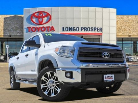 Pre-Owned 2014 Toyota Tundra SR5 4WD 4D CrewMax