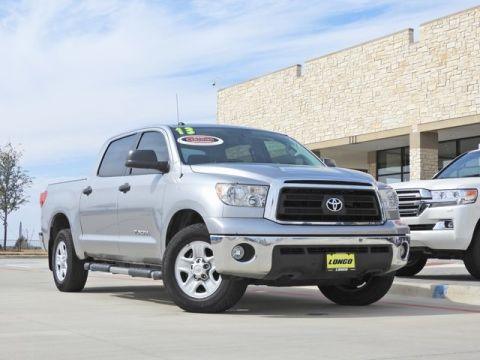 Pre-Owned 2013 Toyota Tundra Grade RWD 4D CrewMax