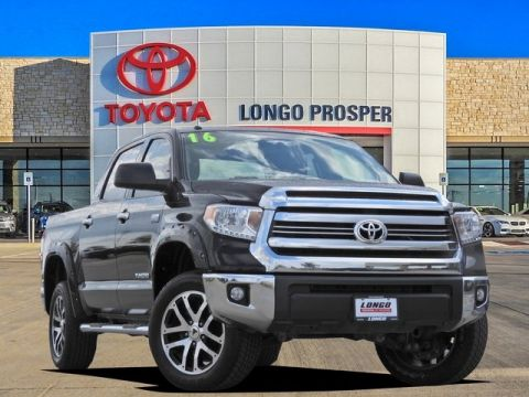 Pre-Owned 2016 Toyota Tundra SR5 RWD 4D CrewMax