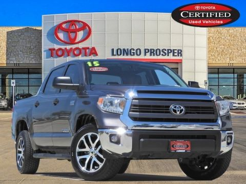Certified Pre-Owned 2015 Toyota Tundra SR5 RWD 4D CrewMax