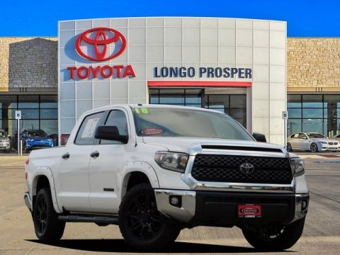 Certified Pre-Owned 2018 Toyota Tundra SR5 RWD 4D CrewMax