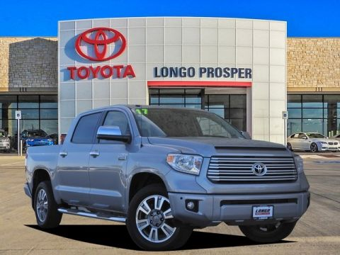 Pre-Owned 2017 Toyota Tundra Platinum RWD 4D CrewMax