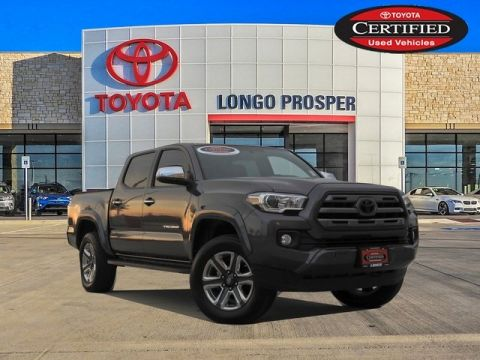 Certified Pre-Owned 2017 Toyota Tacoma Limited 4WD 4D Double Cab