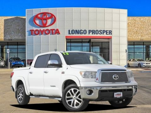 Pre-Owned 2013 Toyota Tundra Platinum 4WD 4D CrewMax