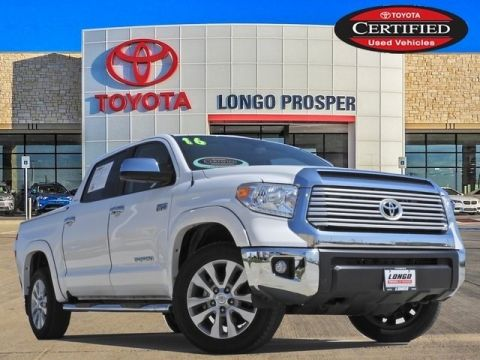 Certified Pre-Owned 2016 Toyota Tundra LTD 4WD 4D CrewMax