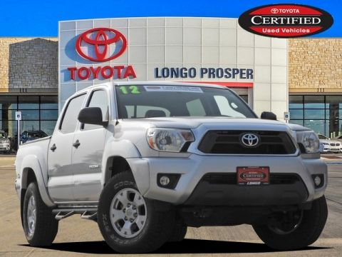 Certified Pre-Owned 2012 Toyota Tacoma Base