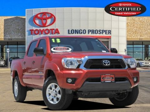 Certified Pre-Owned 2013 Toyota Tacoma Base 4WD 4D Double Cab
