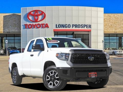 Certified Pre-Owned 2018 Toyota Tundra SR5 4WD 4D Double Cab