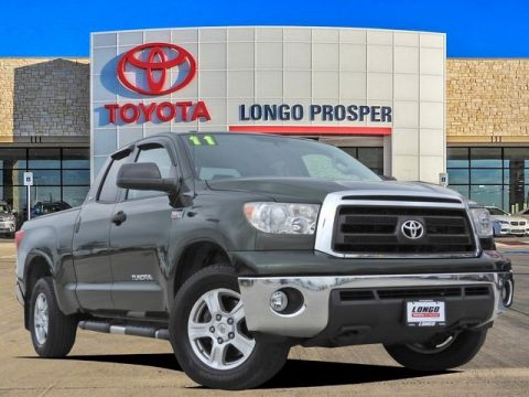 Pre-Owned 2011 Toyota Tundra Grade 4WD 4D Double Cab